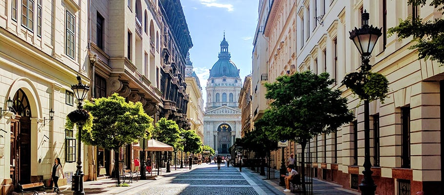 Walking tour in Budapest's city center