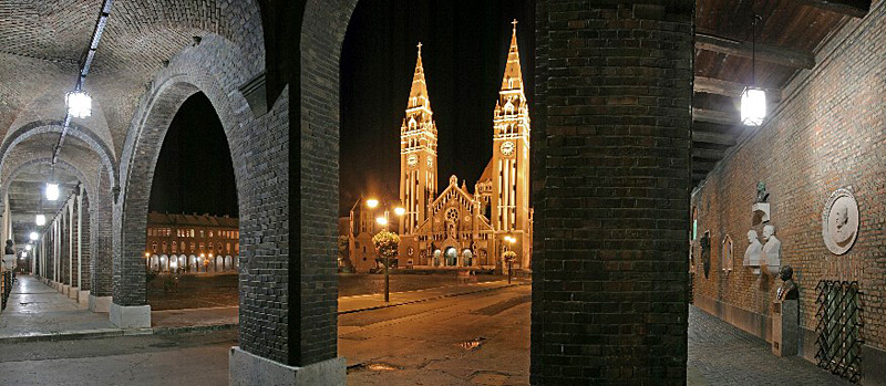 Szeged Dom Square